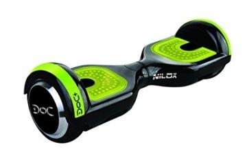 Nilox Uni Plus UL 2272 Doc Hoverboard Bluetooth, Geschwindigheit 10 Km/h, Schwarz, 25.7 x 28 x 65.5 cm -