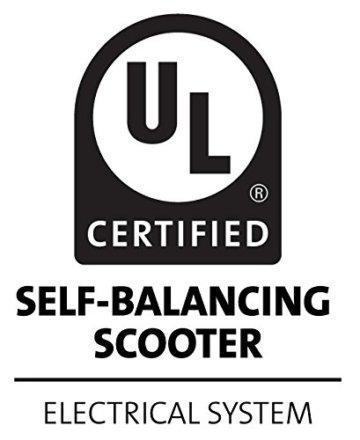 Volthor I1-62066 Self Balancing Scooter 6,5 Zoll UL2272 Standard weiß -